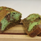 Chocolate Mint Swirl Zucchini Bread