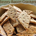 Savory Bacon Crackers