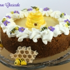 Please, Bees...Bring Spring! Honey Lemon Cheesecake