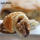 Sour Cream Apple Strudel