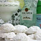 Lavender Lime Tea Cakes - and a Bonus Cocktail!