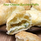 Four-Cheese Zucchini Puffs