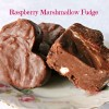 Raspberry Marshmallow Fudge