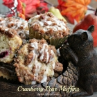 Cranberry Pear Muffins