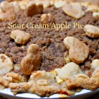 Sour Cream Apple Pie