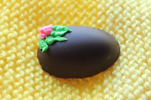 A truffle filled Easter Egg.