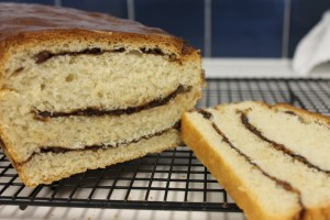 Maple Pecan Bread - the layered version.