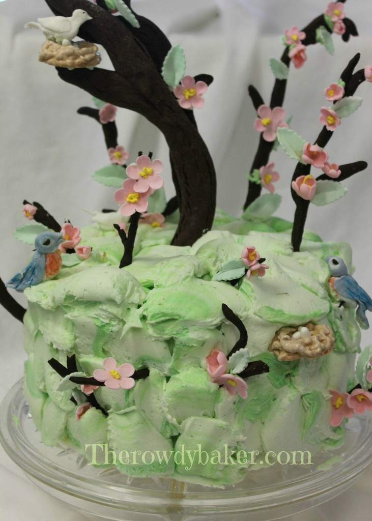 Apple Blossom Cake