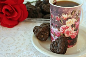 chocolate oatmeal raisin hearts watermark