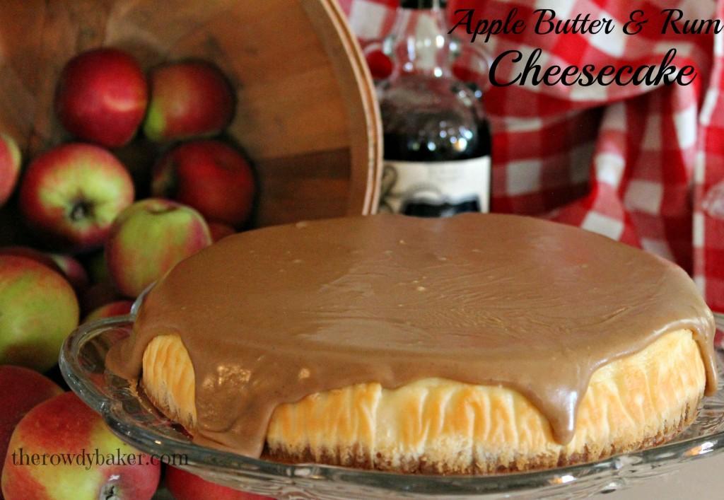 Apple Butter & Rum Cheesecake3