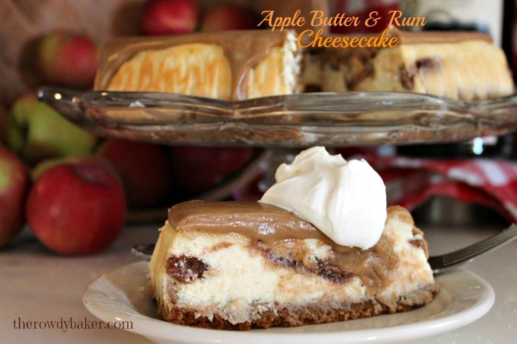 apple butter & rum cheesecake2