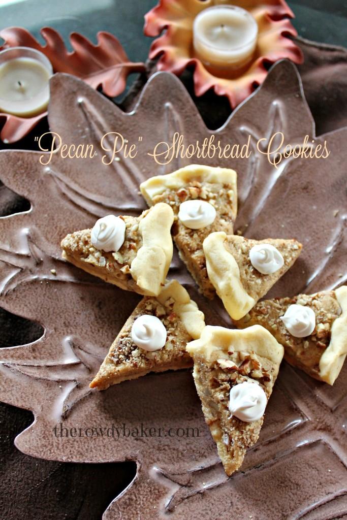 pecan pie shortbread cookies candles watermarked