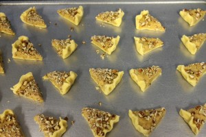 Place on baking sheet and pop them in the oven!